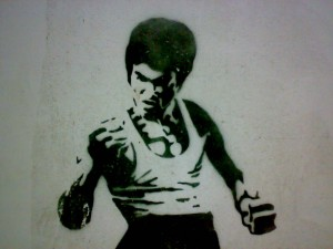 Bruce lee parler chinois